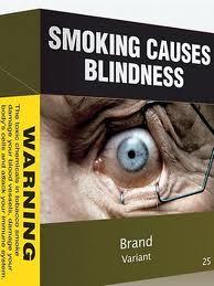 Kemasan rokok luar negeri